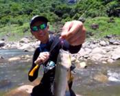 《藍旗魚路亞》去探清澈溪流,與溪流霸主一決高低