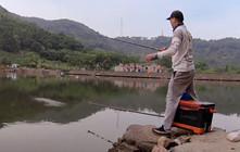 《麦子钓鱼》浮钓鲢鳙,换个水层立马给口上鱼