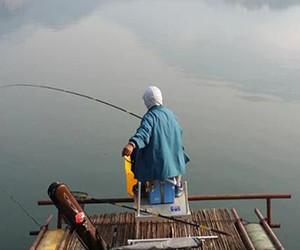 冬季遇到小型水域该如何作钓?