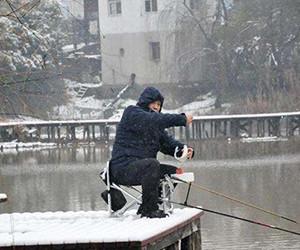 下雪天必备的钓鱼技巧!