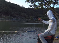 《麥子釣魚》釣青魚螺螄要這樣掛才能提高中魚率,下桿就中喜獲兩尾青魚