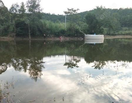 青龙湖,整个空空如也的地方