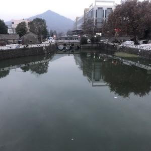 秦淮河支流东善桥段
