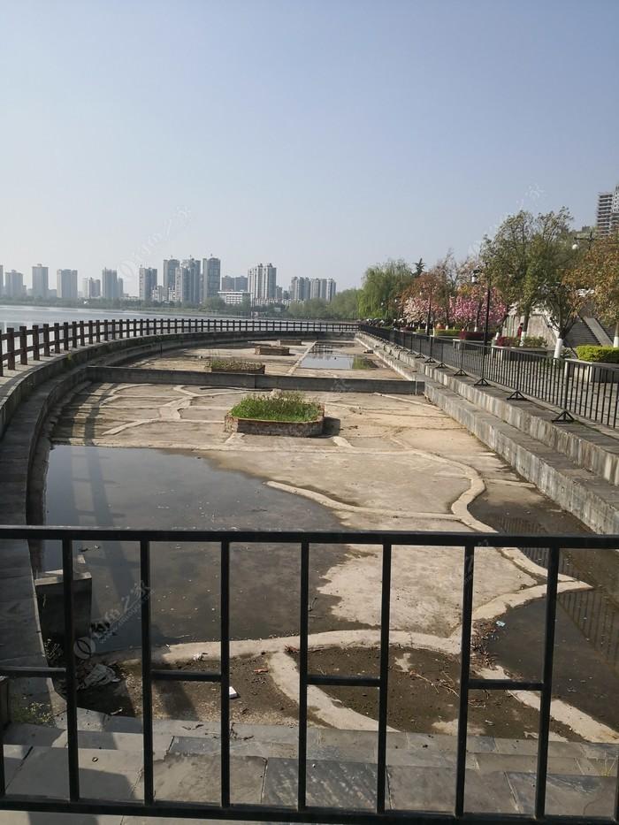 滨江公园开心钓鱼