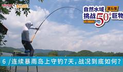《白条游钓》暴雨中守钓7天,只为挑战自然水域50+巨物!