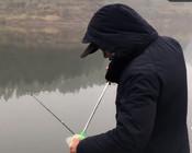 《谷麥釣手石頭》滑漂遠投釣七米水深,本想釣大魚,結果小奶鯉連上