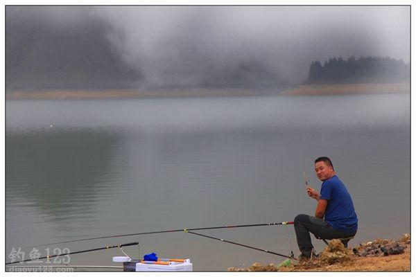 十一游钓水库钓鱼